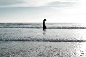 Women in sea