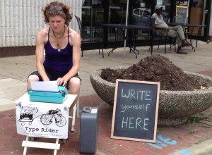 write yourself here typewriter