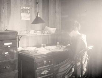 Writing-Woman-Desk-Old